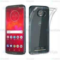 قاب محافظ ژله ای موتورولا Clear Jelly Case For Motorola Moto Z3