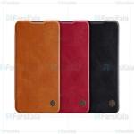کیف محافظ چرمی نیلکین هواوی Nillkin Qin Case For Huawei Nova 5 / Nova 5 Pro