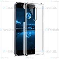 قاب محافظ شیشه ای نوکیا Clear Crystal Cover For Nokia 5