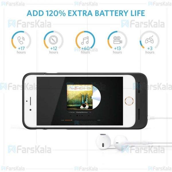 قاب و پاوربانک انکر Anker A1405 2850mA Battery Case For Apple iPhone 6 / 6S