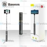 مونوپاد و سه پایه شاتر دار بیسوس مدل Baseus Fully Folding Selfie Stick SUDYZP-D1S