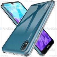 قاب محافظ ژله ای 5 گرمی کوکو هواوی Coco Clear Jelly Case For Huawei Y5 2019 / Y5 Prime 2019 / Honor 8s