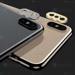 محافظ لنز فلزی دوربین موبایل اپل Alloy Lens Cap Protector For Apple iPhone X / XS
