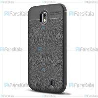 قاب ژله ای طرح چرم نوکیا Auto Focus Jelly Case For Nokia 1 Plus