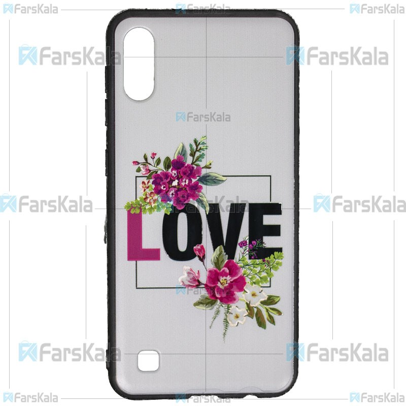 قاب محافظ طرح دار سامسونگ Patterned protective frame Case For Samsung Galaxy M10