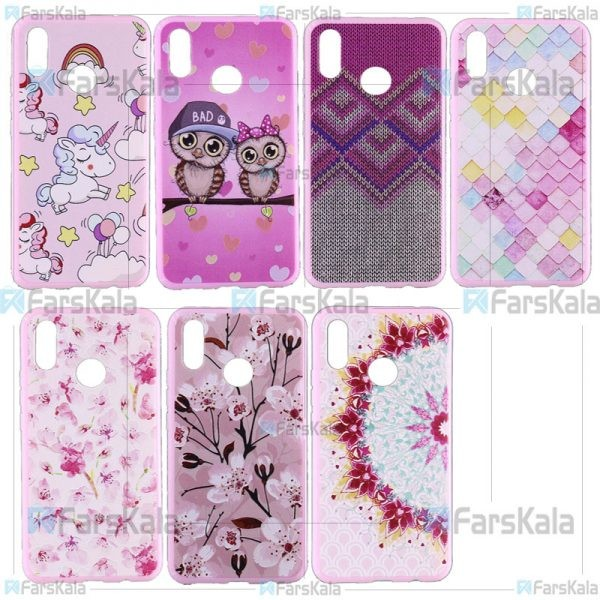 قاب محافظ طرح دار هواوی Patterned Protective Frame Case Huawei Nova 3i/ P Smart Plus