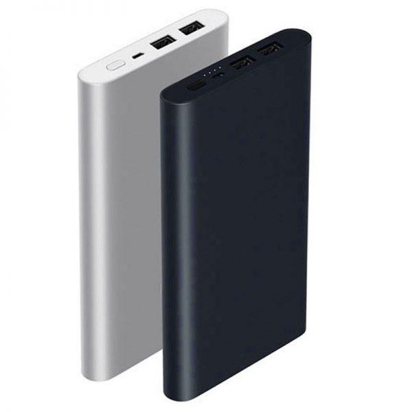 پاوربانک فست شارژ دو پورت شیائومی Xiaomi Power Bank 2 Fast Charging 2 Ports 10000mAh X