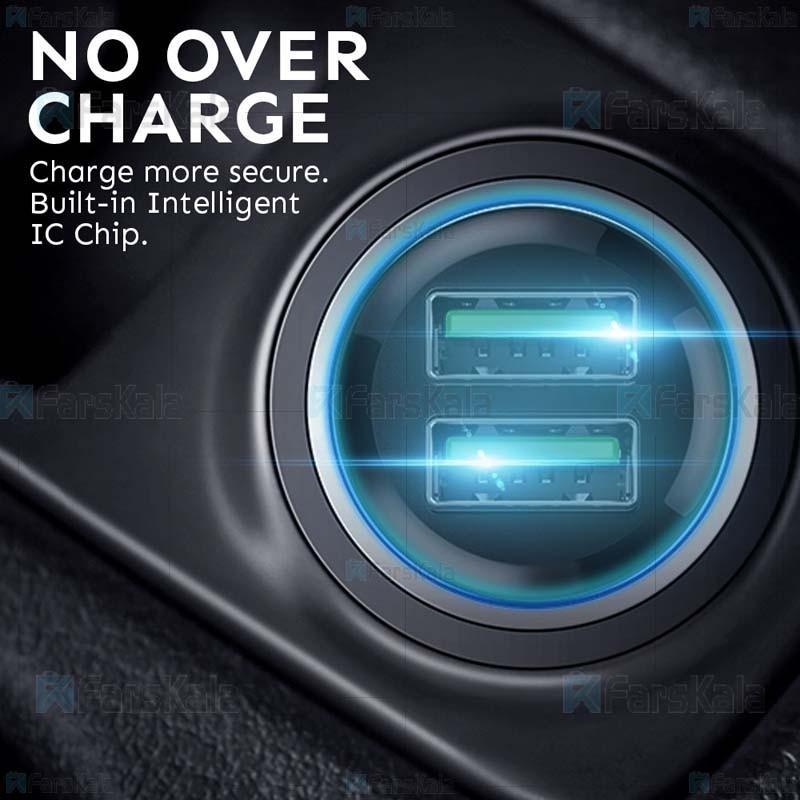 شارژر فندکی باوین Bavin PC398 Car Charger