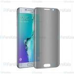 محافظ صفحه نمایش حریم شخصی با پوشش کامل Privacy Full Screen Protector For Samsung Galaxy S6 Edge