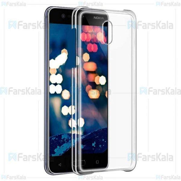 قاب محافظ شیشه ای نوکیا Clear Crystal Cover For Nokia 3