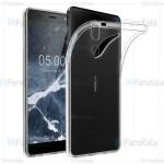 قاب محافظ ژله ای نوکیا Clear Jelly Case For Nokia 5.1