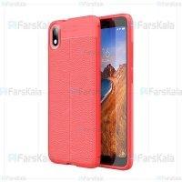 قاب ژله ای طرح چرم شیائومی Auto Focus Jelly Case For Xiaomi Redmi 7A