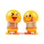 عروسک فنری طرح ایموجی Emoji Face Doll