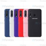 قاب محافظ سیلیکونی سامسونگ Silicone Case For Samsung Galaxy A60