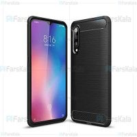 قاب محافظ ژله ای شیائومی Fiber Carbon Rugged Armor Case For Xiaomi Mi 9