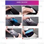 محافظ صفحه شیشه ای تمام صفحه و خمیده یو وی سامسونگ UV Full Glass Screen Protector Samsung Galaxy Note 10