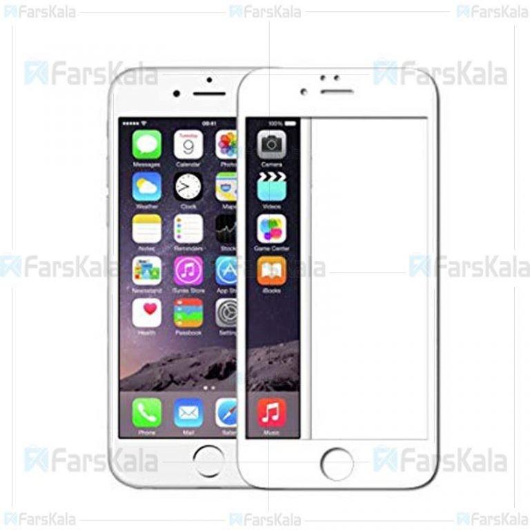 محافظ صفحه نمایش تمام چسب با پوشش کامل Full Glass Screen Protector For Apple iPhone 6 / 6S