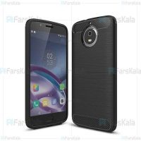 قاب محافظ ژله ای موتورولا Fiber Carbon Rugged Armor Case For Motorola Moto G5S