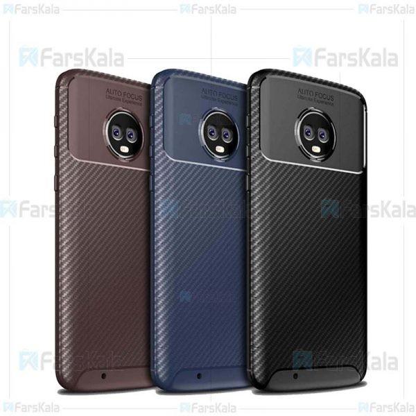 قاب فیبر کربنی شیائومی AutoFocus Beetle Case For Motorola Moto G6