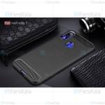 قاب محافظ ژله ای شیائومی Fiber Carbon Rugged Armor Case For Xiaomi Redmi Note 7 / Note 7 Pro
