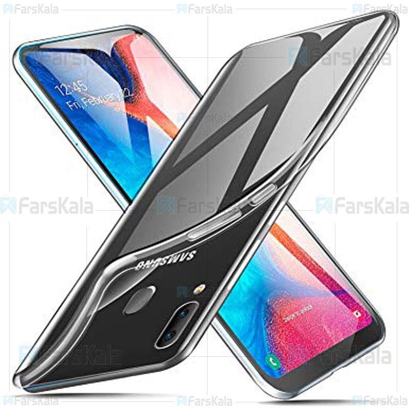 قاب محافظ ژله ای سامسونگ Clear Jelly Case For Samsung Galaxy A20e