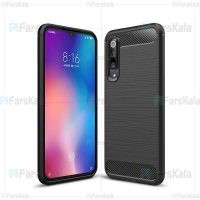 قاب محافظ ژله ای شیائومی Fiber Carbon Rugged Armor Case For Xiaomi Mi 9 SE