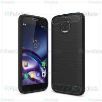 قاب محافظ ژله ای موتورولا Fiber Carbon Rugged Armor Case For Motorola Moto G5S Plus