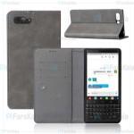 کیف طرح چرم بلک بری Leather Cover For BlackBerry Key2