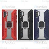 قاب محافظ انگشتی سامسونگ Armor Ring 360 Case Samsung Galaxy Note 10 Plus