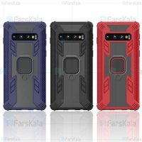 قاب محافظ انگشتی سامسونگ Armor Ring 360 Case Samsung Galaxy S10 Plus