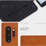 کیف محافظ چرمی نیلکین سامسونگ Nillkin Qin Case For Samsung Galaxy Note 10 Plus