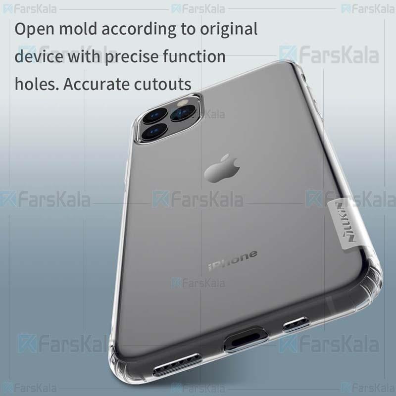 قاب محافظ ژله ای نیلکین اپل Nillkin Nature Series TPU case for Apple iphone 11 5.8