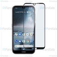 محافظ صفحه نمایش تمام چسب با پوشش کامل Full Glass Screen Protector For Nokia 4.2