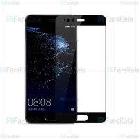 محافظ صفحه نمایش شیشه ای با پوشش کامل Full Glass Screen Protector For Huawei P10 Plus