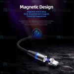کابل مگنتی سه کاره راک ROCK G1 3 In 1 Magnetic Cable