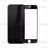 محافظ صفحه نمایش تمام چسب با پوشش کامل Full Glass Screen Protector For Apple iPhone SE