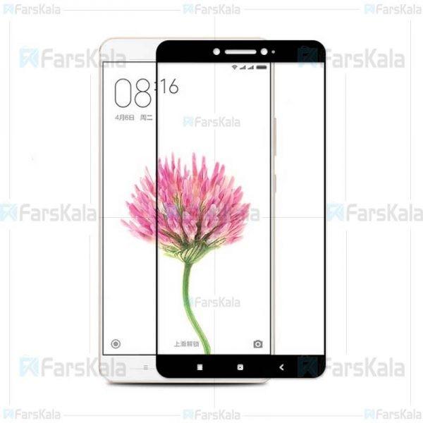 محافظ صفحه نمایش تمام چسب با پوشش کامل شیائومی Full Glass Screen Protector For Xiaomi Mi Max