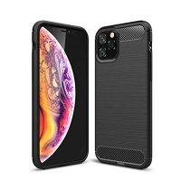 قاب محافظ ژله ای اپل Fiber Carbon Rugged Armor Case For Apple iPhone 11 Pro