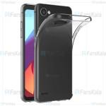 قاب محافظ ژله ای 5 گرمی ال جی Clear Jelly Case For LG Q6