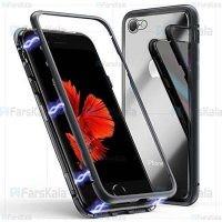 قاب محافظ مگنتی اپل Glass Magnetic 360 Case Apple iPhone 6 / 6S