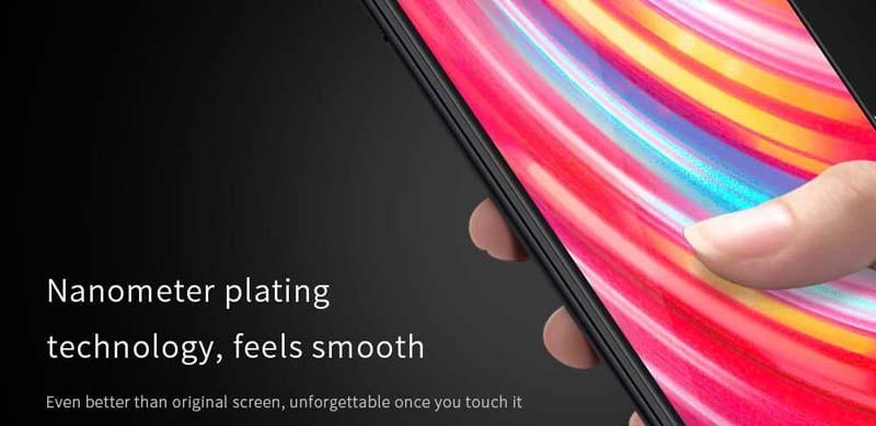 محافظ صفحه نمایش شیشه ای نیلکین شیائومی Nillkin XD CP+ Max Glass Xiaomi Redmi Note 8 Pro