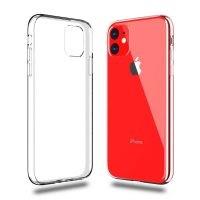 قاب محافظ شیشه ای- ژله ای اپل Belkin Transparent Case For Apple iPhone 11