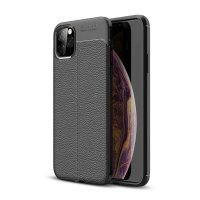 قاب ژله ای طرح چرم اپل Auto Focus Jelly Case For Apple iPhone 11 Pro Max