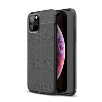 قاب ژله ای طرح چرم اپل Auto Focus Jelly Case For Apple iPhone 11 Pro