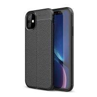 قاب ژله ای طرح چرم اپل Auto Focus Jelly Case For Apple iPhone 11