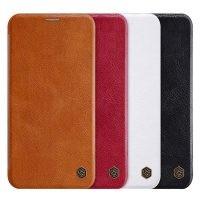 کیف محافظ چرمی نیلکین اپل Nillkin Qin Case For Apple iPhone 11 Pro Max