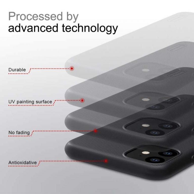 قاب محافظ نیلکین اپل Nillkin Frosted Shield Case For Apple iPhone 11 6.1