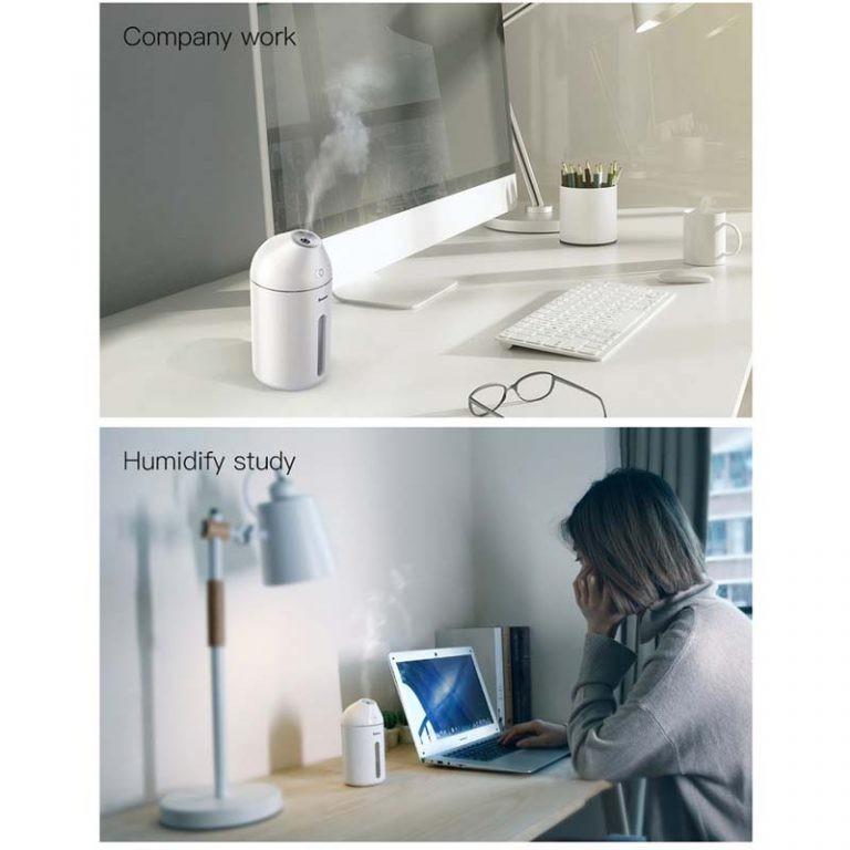 دستگاه بخور سرد و رطوبت ساز بیسوس Baseus Cute Mini Humidifier