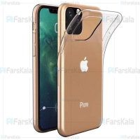 قاب محافظ ژله ای 5 گرمی اپل VPG TPU Clear Jelly Case For Apple iPhone 11 Pro Max