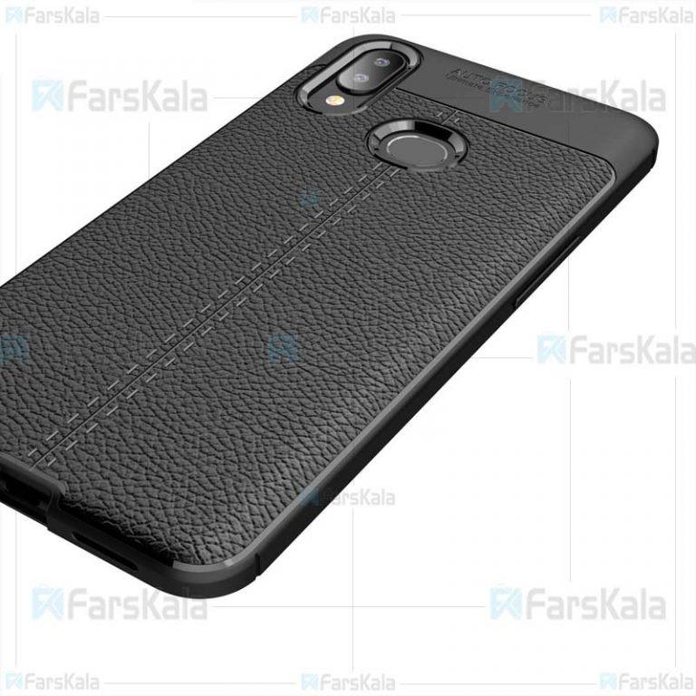 قاب ژله ای طرح چرم سامسونگ Auto Focus Jelly Case For Samsung Galaxy A10S